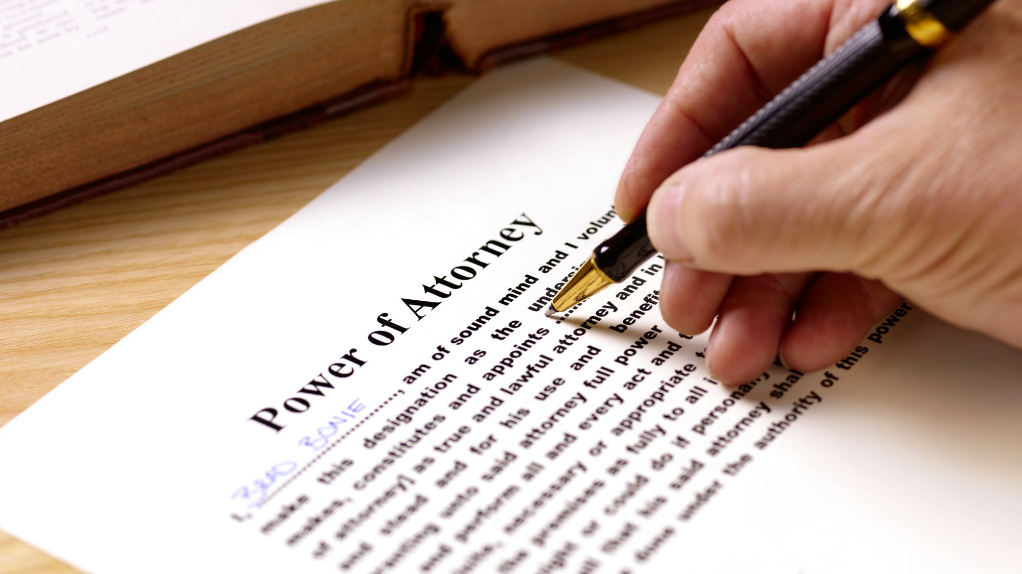 What can a Power of Attorney Do—or Not Do?