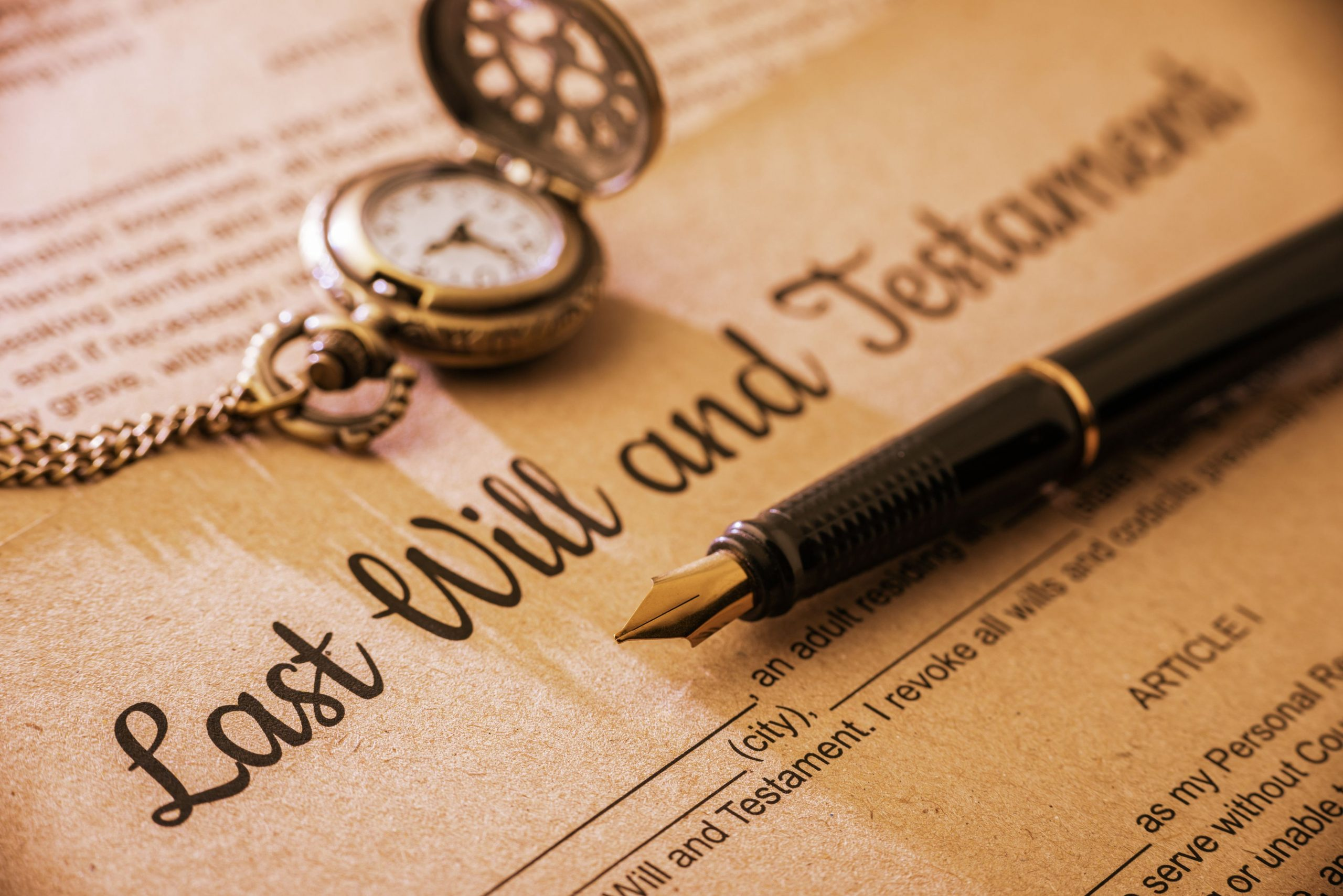 How to Manage a Will and Trust
