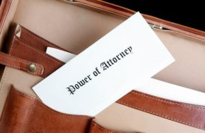 Is My Estate Plan Set with a Power of Attorney?